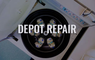 Use one of our DEPOT REPAIR Centers worldwide