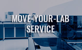 Need to move your lab? We can help, contact oneservice!