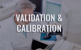 Validation & calibration by oneservice