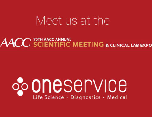Meet the oneservice Team at the 70th AACC Annual Scientific Meeting & Clinical Lab Expo, July 29 – August 2, 2018 McCormick Place Chicago, Illinois