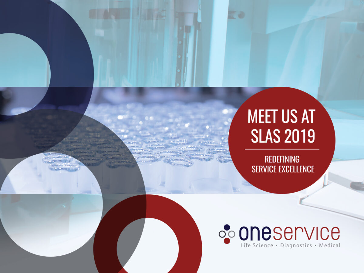oneservice at SLAS Europe 2019